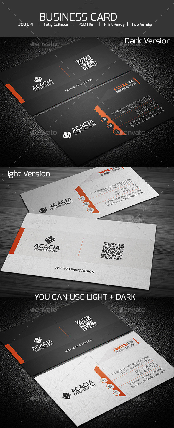 GraphicRiver SIMPLE AND ELEGANT BUSINESS CARD 11974367