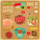 BBQ Card - GraphicRiver Item for Sale