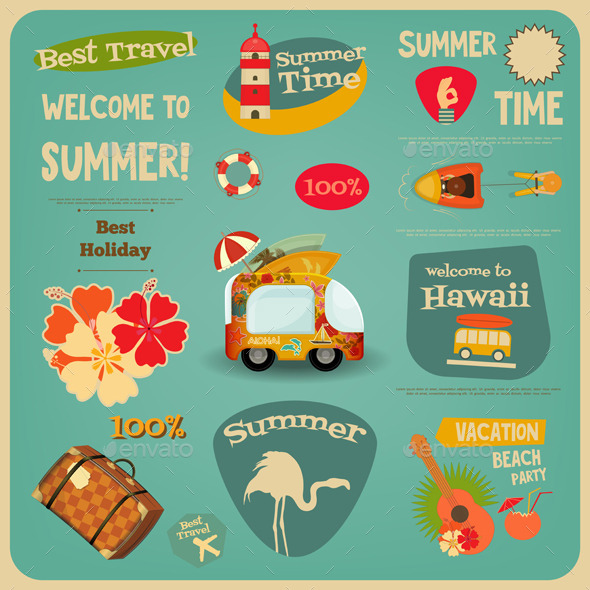 GraphicRiver Summer Travel Card 11974419