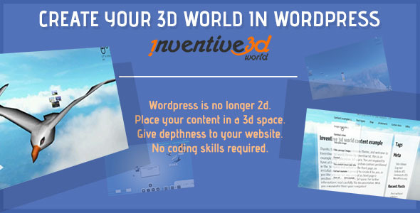 Inventive 3d world engine