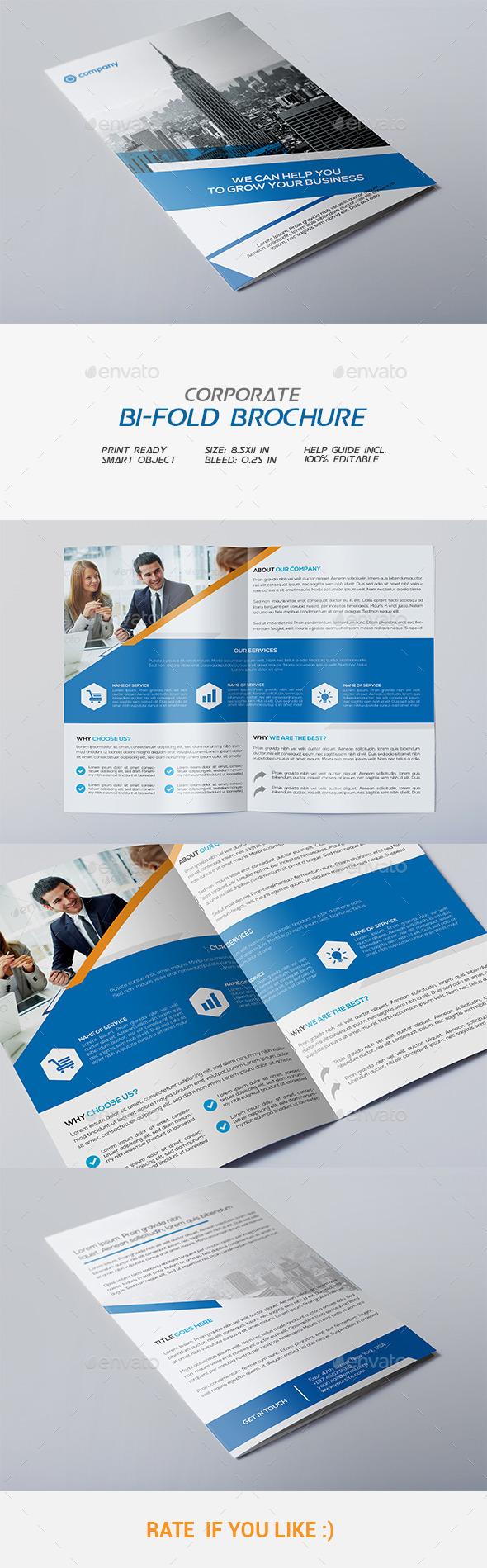 GraphicRiver Corporate Bi-fold Brochure 11975241