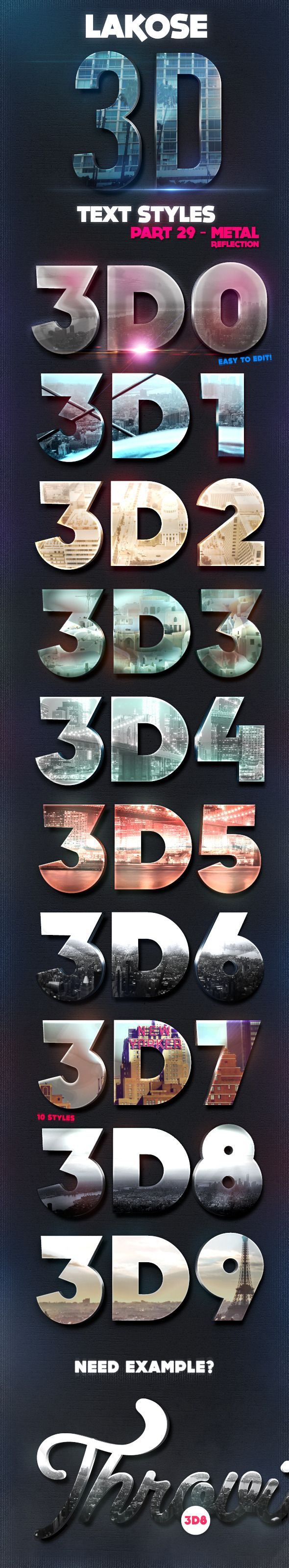 GraphicRiver Lakose 3D Text Styles Part 29 11975507