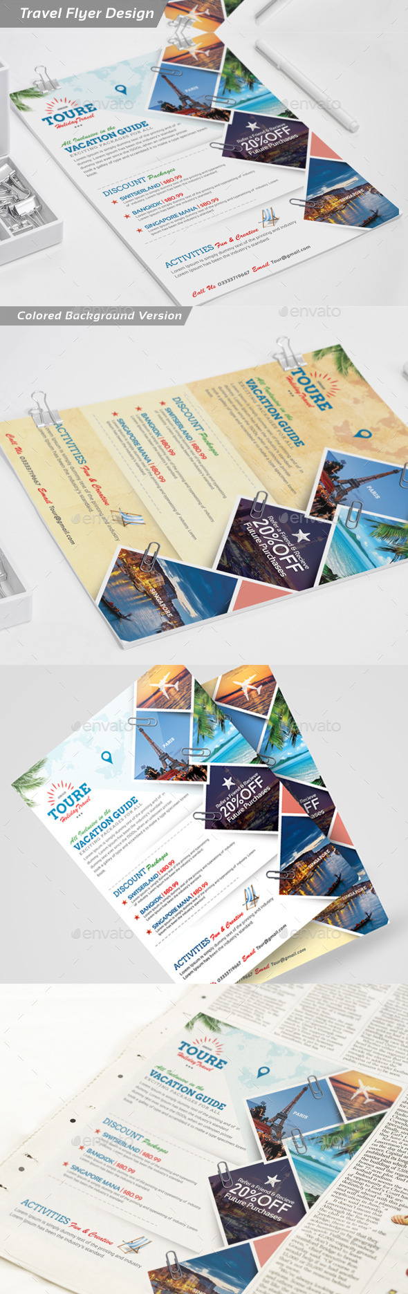 GraphicRiver Holiday Travel and Tour Flyer 11975614