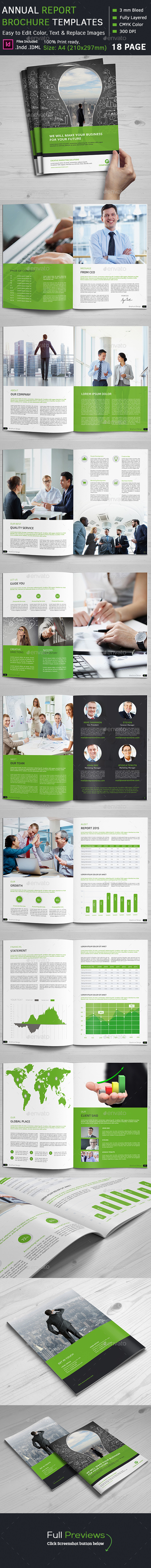 GraphicRiver Annual Report Brochure 11975636