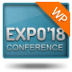 Expo18 Responsive Event Conference WordPress Theme - ThemeForest Item for Sale