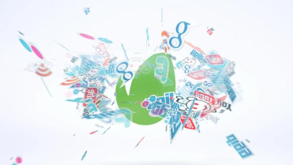 Social Reveal Logo Intro