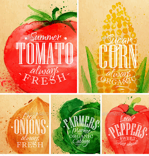 GraphicRiver Poster Vegetables 11976594