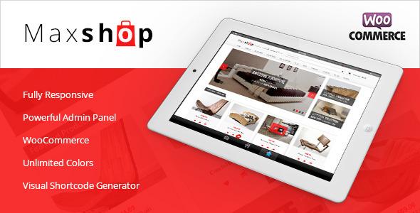 Maxshop - Responsive WooCommerce Theme - WooCommerce eCommerce