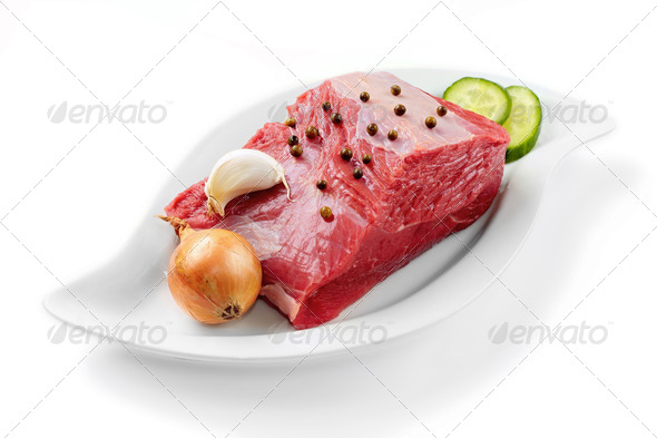 Minced beef - Stock Photo - Images