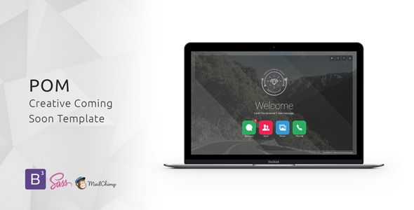 ThemeForest POM Creative Coming Soon Template 11875469