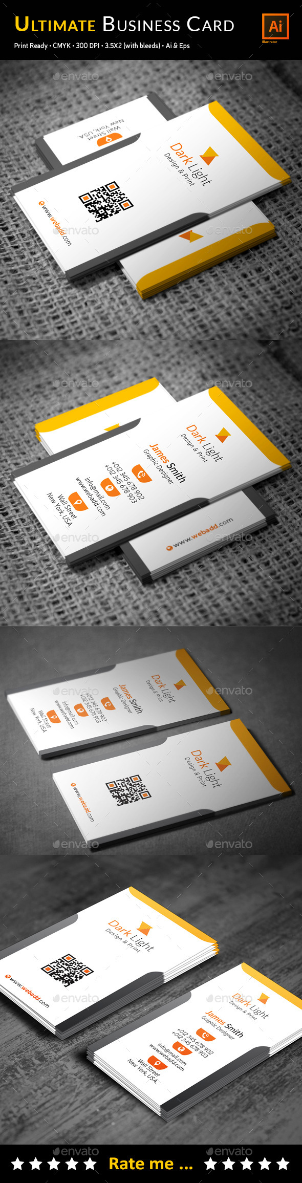 GraphicRiver Ultimate Business Card 11978245