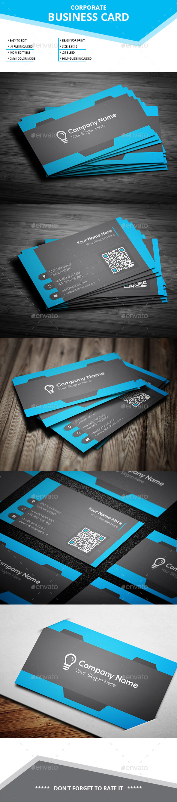 GraphicRiver Corporate Business Card SL 15 11978359