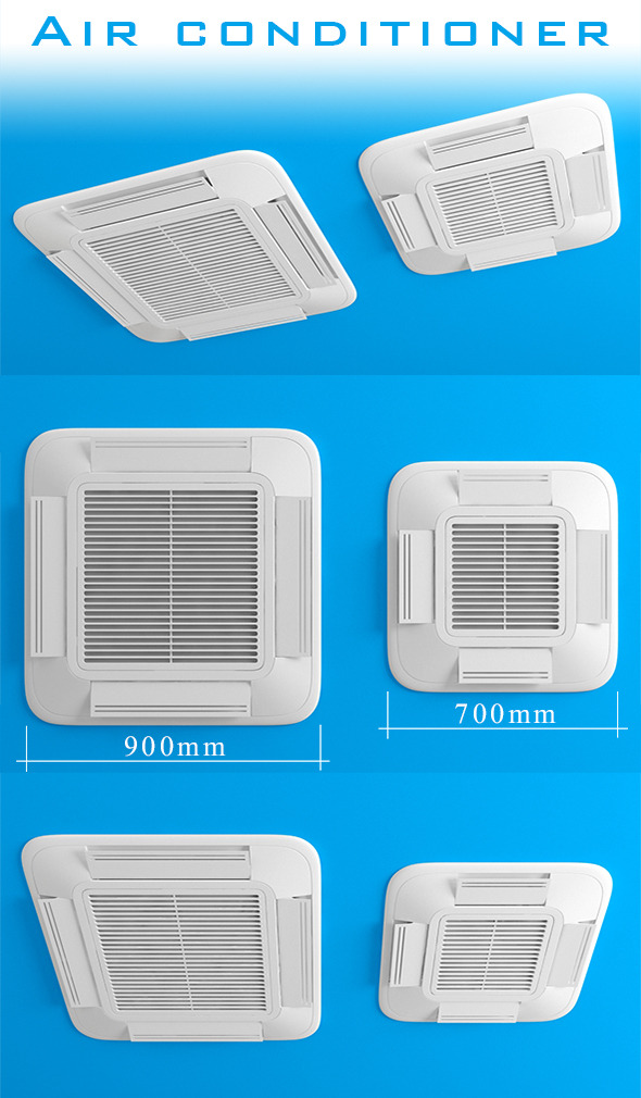3DOcean Air conditioner 11978579