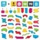 Sale Speech Bubble Icon. Big Sale Shopping Bag. - GraphicRiver Item for Sale