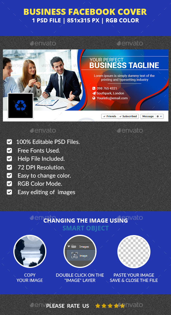 GraphicRiver Business Facebook Cover v3 11978855