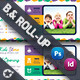 Kids Store Billboard & Roll-Up Templates - GraphicRiver Item for Sale
