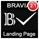 Bravia Landing Page - ThemeForest Item for Sale