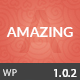 Amazing  Multi-Purpose WordPress Theme