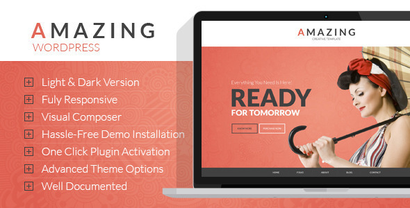 Download Amazing  Multi-Purpose WordPress Theme nulled download