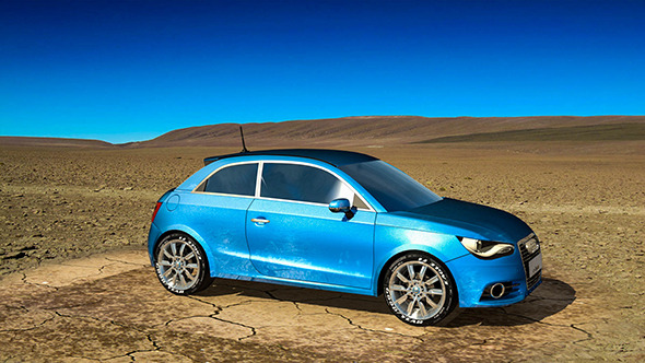 Audi A1 - 3DOcean Item for Sale