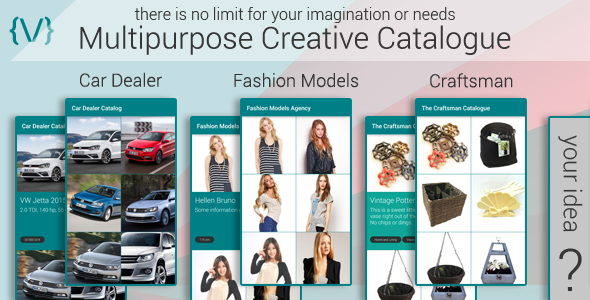 CodeCanyon Multipurpose Creative Catalogue 11979778