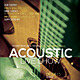 Acoustic Live Show Flyer / Poster Vol.1 - GraphicRiver Item for Sale