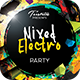 Mixer Electro - Flyer Template - GraphicRiver Item for Sale
