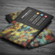 Colorful Mosaic Business Card - GraphicRiver Item for Sale