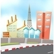 City and Road - GraphicRiver Item for Sale