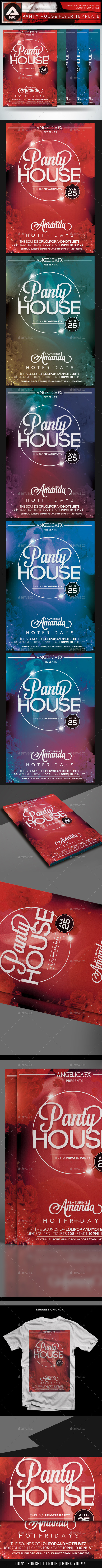 GraphicRiver Panty House Flyer Template 11976148