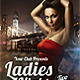 Ladies Night Party Flyer Template - GraphicRiver Item for Sale