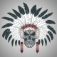 Indian Skull Chief - GraphicRiver Item for Sale
