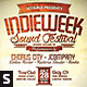 Indie Typography Flyer - GraphicRiver Item for Sale