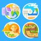 World Landmarks - GraphicRiver Item for Sale
