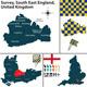 Surrey, South East England, UK - GraphicRiver Item for Sale