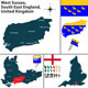 West Sussex, South East England, UK - GraphicRiver Item for Sale