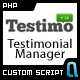 Testimonial Manager V1.0 - CodeCanyon Item for Sale