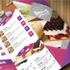 Colorful Food Menu  - GraphicRiver Item for Sale