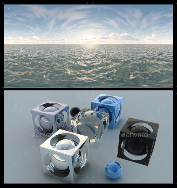 3DOcean Ocean Bright Day 3 HDRI 11984547