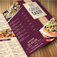 Resto Food Menu - GraphicRiver Item for Sale