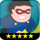 Evil Hero Mascot Set - GraphicRiver Item for Sale