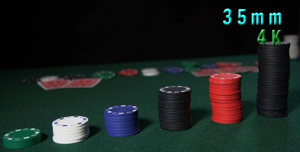 Casino Chips Stacks 12