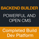 Backend Builder - DIY CMS