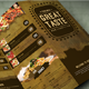 Retro Food Menu 2 - GraphicRiver Item for Sale