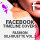 Facebook Timeline Cover - Fashion Silhouette Vol.2