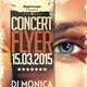 Concert Flyer Template - GraphicRiver Item for Sale