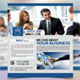 Corporate Flyer (Face Book Style) - GraphicRiver Item for Sale