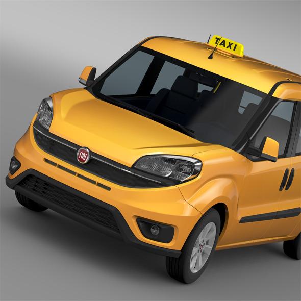 3DOcean Fiat Doblo Maxi Taxi 152 2015 11988129