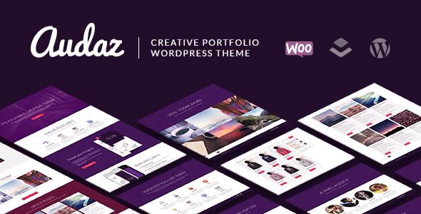 Audaz Creative & WooCommerce WordPress Theme (Creative) Download
