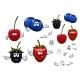 Strawberry, Blackberry, Cherry, Blueberry Fruits